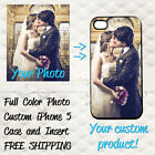 Personalized Photo iPhone 5 Custom Printed on Hard Case Cover