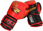 Authentic RDX Ultimate Leather Boxing Gloves Fight,Punch Bag MMA Muay Thai Pad U