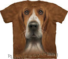Adult BASSET HOUND The Mountain Dog Head Face T Shirt  All Sizes  10-3607
