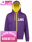 JLS, Varsity, College, Letteman, 2 colour Hoodie. Add Your Name