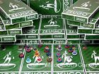 Zeugo * NORTH, CENTRAL & EASTERN EUROPE + WORLD teams  * Subbuteo Football