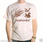 BASTARDS! SQUIRRELS T SHIRT INSPIRED BY BLACKADDER CLASSIC TV COMEDY SHIRT
