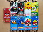 ANGRY BIRDS HARD CASE FOR IPOD TOUCH 5TH GENERATION + Free Screen Protector