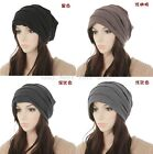New Plicate Hip Hop Young Mens Womens Baggy Beanie Oversized Slouchy Hat Cap