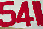 Sail Numbers & Letters All Sizes FREE 1st CLASS POST byLulham-Robinson 8 colours