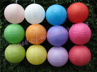 """1 Chinese Paper Lanterns 8"""" 10"""" 12"""" 14"""" 16"""" Mix Colour Wedding Party Decorations"""