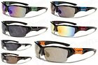 X-Loop Bike Softball Baseball Fishing Sunglasses Black With Several Trims XL465