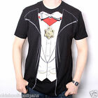 VAMPIRE T SHIRT - DRACULA FANCY DRESS COSTUME SHIRT US IMPORT BIG PRINT