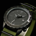 INFANTRY Sport ARMY Date Rotatable Tachymeter Bezel Nylon Men Quartz Wrist Watch