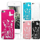 NEW STYLISH GRIP HARD CASE COVER FOR APPLE IPOD TOUCH 5TH GEN FREE SCREEN GUARD