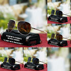 Vintage Designer Frame Aviator Sunglasses Smoke UV 400 Shades New Mens Womens