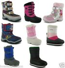kids winter shoes shoe footwear girls boys children unisex snow boot C3-sz 4