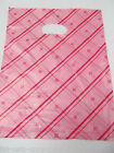 40-45 BABY PINK DESIGN SMALL PLASTIC CARRIER BAGS 19cm x 18cm UK SELLER FREE P&P
