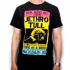 JETHRO TULL T SHIRT - ALBERT HALL 72 THICK AS A BRICK TOUR 100% OFFICIAL IMPORT