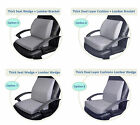 Memory Foam Thick Seat Cushion + Lumbar Back Support Pain Reliever 4 Combo Packs