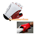 CASTELLI GLOVE cycling Bike Bicycle Silicone gel on palm fingerless gloves W