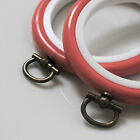 2 Round Flexi Hoops Embroidery Hoops 2.5 inch / 64mm