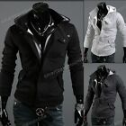 Fashion Korean Men's Slim Fit Hoodie Sweater Male Top Jacket/Coat Sweatshirt Hot