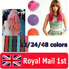 12/24/36 Pieces colours DIY Temporary color Hair Soft Pastels Chalks Salon