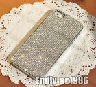 Bling Claw Set Clear Swarovski Rhinestone Crystal Cover Case For iPhone 55S/4S
