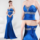 Sweetheart New Sexy Ladies Formal Ball Gown Evening Prom Party Long maxi Dresses