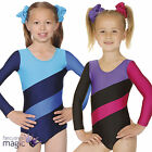 Girls Child Hop Gymnastic Long Sleeved Gym Dance Nylon Lycra Leotard Roch Valley