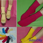 Admcity cotton spandex ankle socks colorful solids girls casual ladies womens