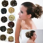 Beautiful ponytail holders made of synthetic hair fiber  11 colors selection