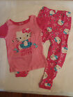 HELLO KITTY 4T 5T or 24 Month 2-Piece Pajama Sleepwear Set NWT Short Sleeve