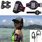 Running Sports Gym Armband Case Cover and Hook Headphones For iPhone 4 4s 5 5th