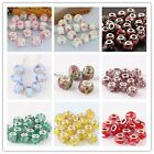 Wholesale Lot mix-color Murano Lampwork Glass Loose Glass Beads Fit Bracelet DIY