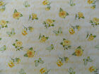 Rose fabric floral Yellow Roses Dreaming of roses quilting bunting bargain