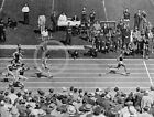 1935 EXCELLENT PHOTO JESSE OWENS WINNING 100 YD DASH
