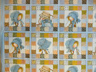 Holly Hobbie fabric cushion picture panels cotton girls bedroom blue patchwork