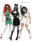 Ladies Sexy Zombie Nurse Costume Adult Womens Halloween Party Fancy Dress  8-18