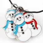 15pcs New Enamel White Alloy Mixed XMAS Charms Pendants Findings Fit DIY Making