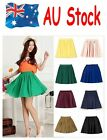 AU 2015 New Vintage High Waist Double Chiffon Women Short Skirt Sweet Dress O