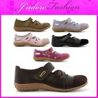 NEW LADIES COOLERS CASUAL FLAT VELCRO BREATHABLE COMFORTABLE SHOES SIZES UK 4-8