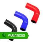 63mm - Silicone Hose 90 Degree Elbow - Silicone Bend Corner Coupler Pipe Rubber