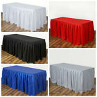 "21 feet x 29"" Polyester Banquet Table Skirt Wedding Party Linens"