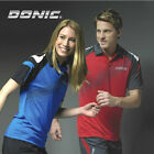 Free shipping NEW Donic Table tennis clothes Polo T-Shirt D3011 blue/black/red