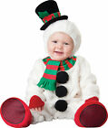 SILLY SNOWMAN CHILD TODDLER COSTUME White Holiday Theme Party Halloween