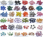 10& Quality Czech Crystal Rhinestones Pave Clay Round Disco Ball Spacer Beads