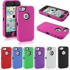 Heavy Duty Armour Shock Proof Builders Workman Case Cover for iPhone 5C