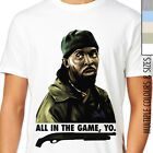 OMAR LITTLE - ALL IN THE GAME, YO T-Shirt. The Wire Cult TV DVD Series. Shotgun