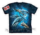 """Child SHARK The Mountain T Shirt """"Shark Collage"""" Sizes From 4 -14 Years 15-3304"""