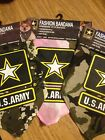 FASHION BANDANA - U.S. ARMY - ALL SIZES - NEW IN PACKAGE