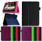 "Folio Leather Smart Case Cover for 2013 All New Kindle Fire HD 7"" Tablet 2nd Gen"