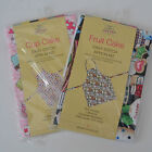 Easy stitch apron kit cupcake / fruitcake pattern  mothers day Christmas gift ?