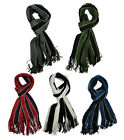 Luxurious Soft Touch University Collage Stripe Scarf Striped Scarves Extra Long